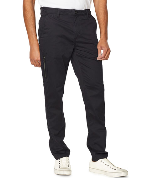John Varvatos Star USA Men's Smithy Zip-Pocket Flight Pants