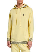 Icecream Men's Milk Ice Logo-Trim Pullover Hoodie
