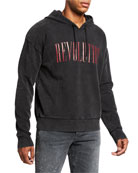 John Varvatos Star USA Men's Revolution Faded Hoodie