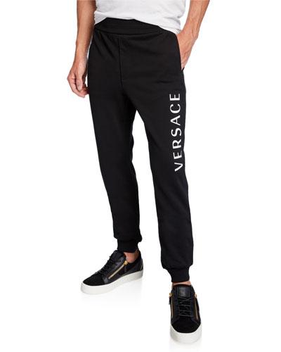 Men's Logo Typographic Sweatpants