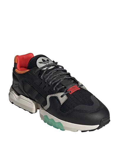 Men's ZX Torsion Colorblock Trainer Sneakers