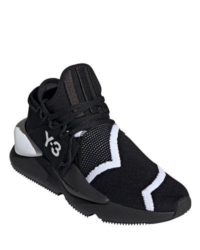 Men's Kaiwa Two-Tone Knit Sneakers