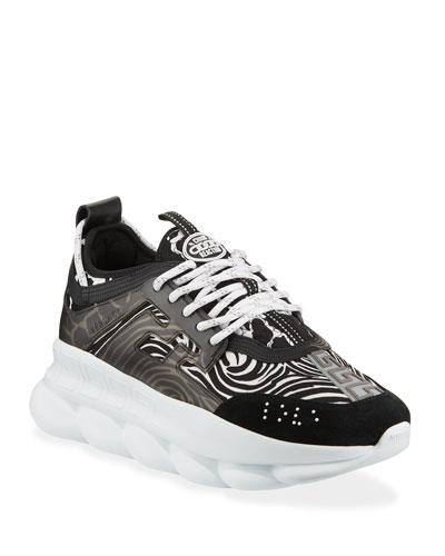 Men's Runway Chain Reaction Sneakers