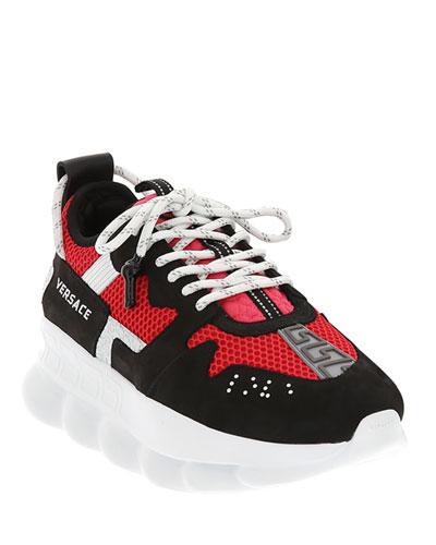 Men's Runway Chain Reaction Colorblock Sneakers