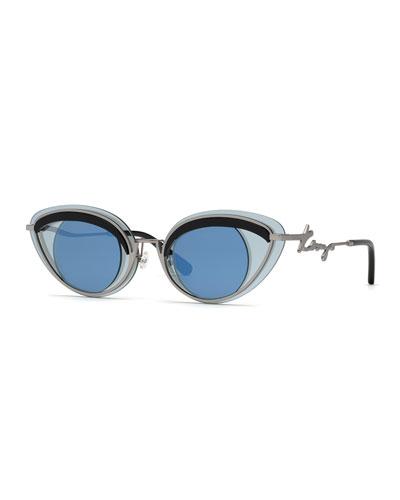Men's Eye-Aesthetic Metal Sunglasses