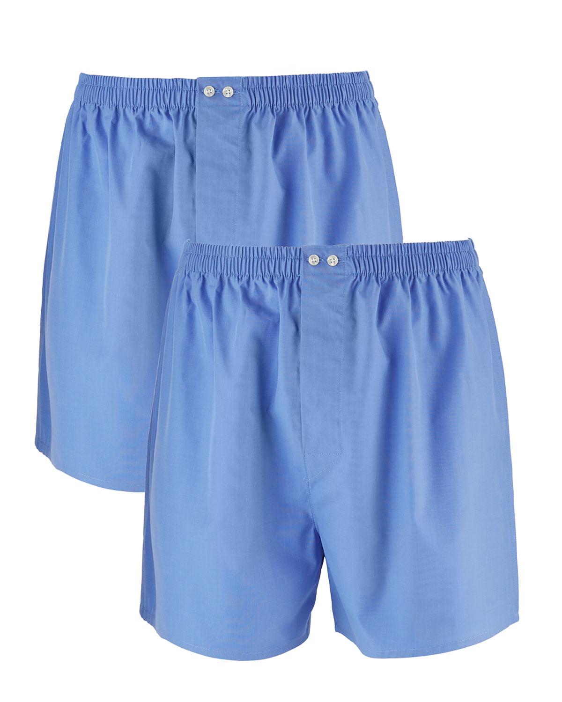 Men's 2-Pack Tagless Cotton Boxers