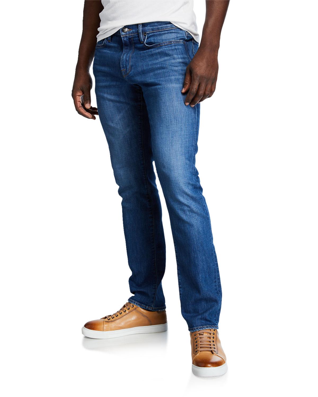 Frame Jeans L'HOMME PLACID STRAIGHT-LEG JEANS