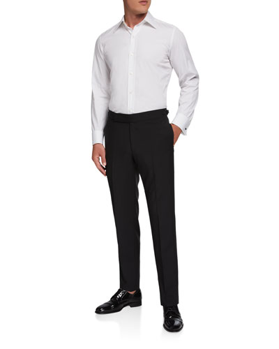 Men's Formal Wool/Mohair Dress Pants