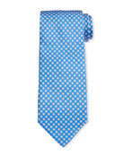 Salvatore Ferragamo Men's Iconico Football Silk Tie 3