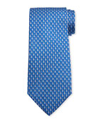 Salvatore Ferragamo Men's Ibanez Guitars Silk Tie 3