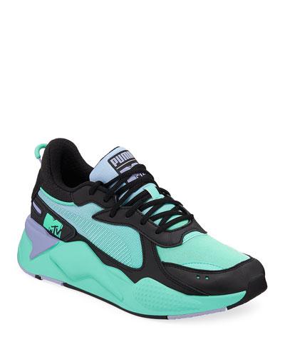 Men's RS-X Tracks MTV Gradient Gloom Trainer Sneakers