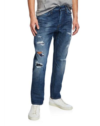 Men's Sartor Delinquent Distressed Jeans