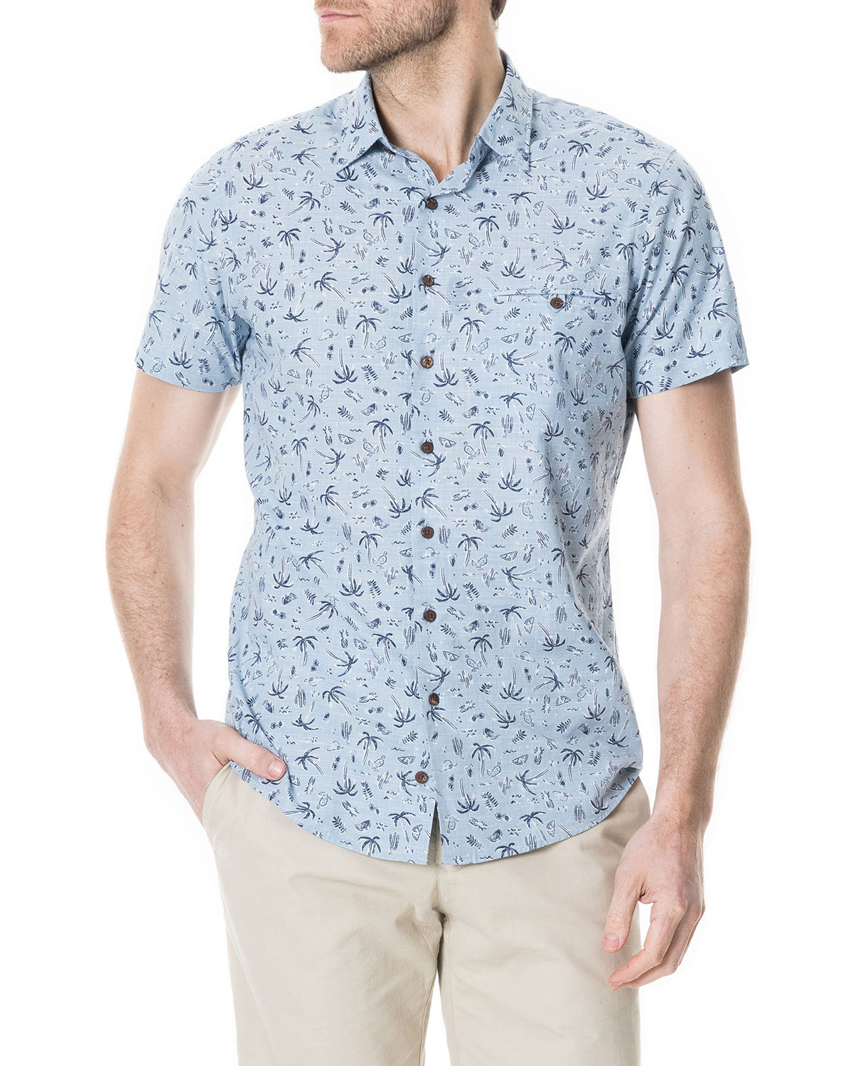 Men's Urquharts Beaches Shirt