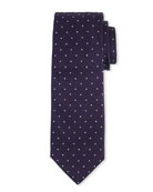 BOSS Men's Dotted Silk Tie