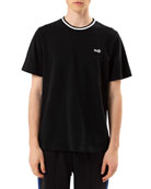 Ovadia & Sons Men's Leopard Pique T-Shirt