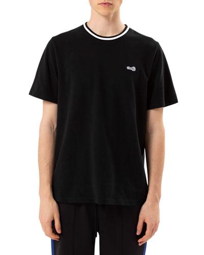 Men's Leopard Pique T-Shirt