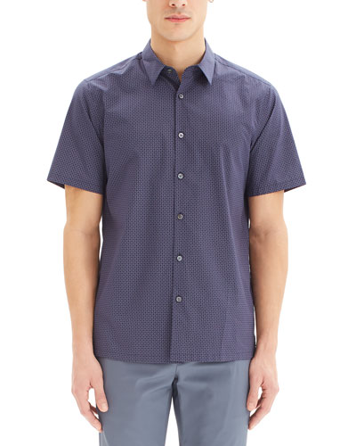 Men's Irving Sillar Short-Sleeve Sport Shirt
