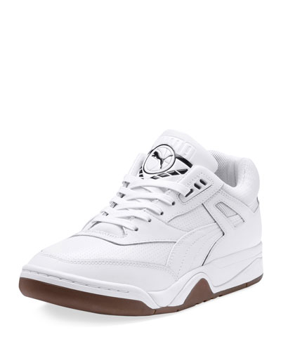 Men's Palace Guard Mid-Top Sneakers, White