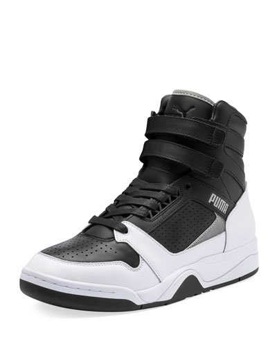 Men's Palace Guard High-Top Moto Sneakers