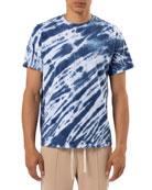 Ovadia Men's Tie-Dye Reverse Logo T-Shirt