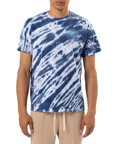 Men's Tie-Dye Reverse Logo T-Shirt