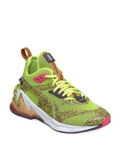Men's LQDCell Origin Mesh Running Sneakers, Yellow