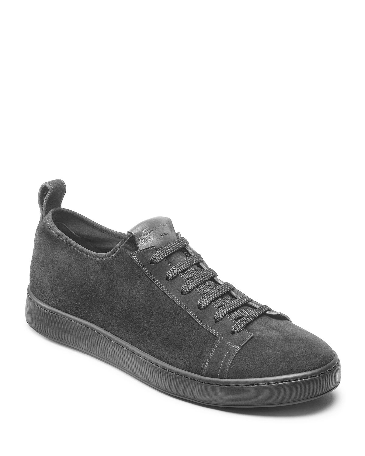 Men's Clean Iconic Suede Slip-On Stretch Sneakers