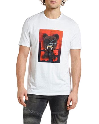 Men's Fetish Bear Graphic T-Shirt