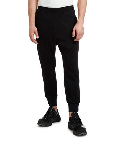 Men's Slouchy Rise Tuxedo Jogger Pants