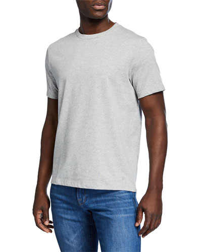 Men's Heavyweight Crewneck Short-Sleeve Cotton Tee