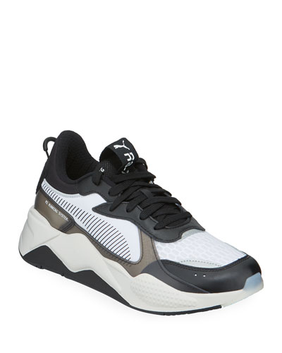 Men's RS-X Tech Mixed-Media Running Sneakers