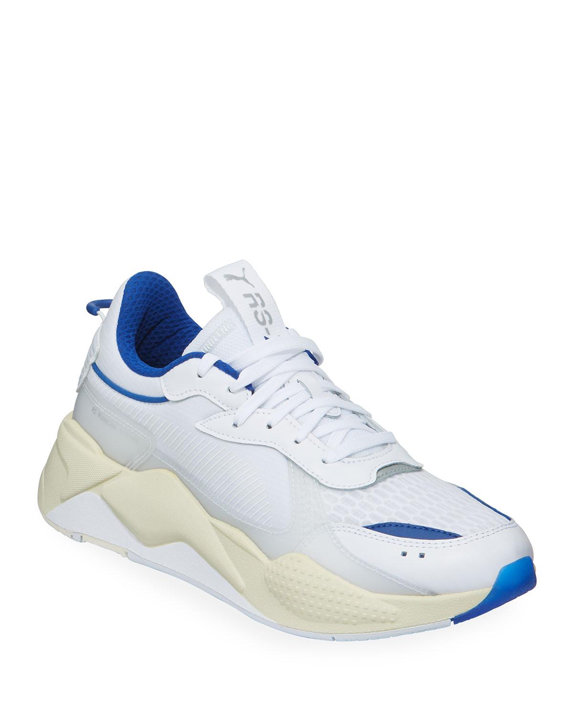 Puma Sneakers MEN'S RS-X TECH MIXED-MEDIA RUNNING SNEAKERS