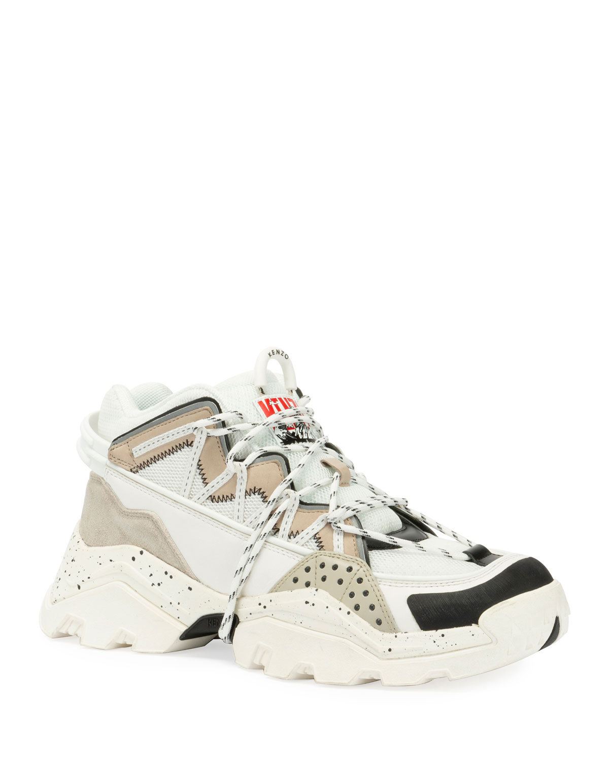 Kenzo Sneakers Men's Inka Chunky Speckled Wraparound-Lace Sneakers