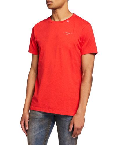 Men's Unfinished Short-Sleeve Slim T-Shirt