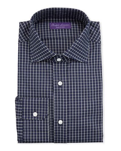 Men's Tattersall Dress Shirt