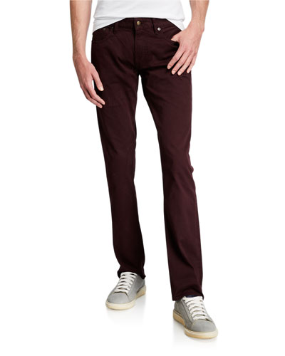 Men's 5-Pocket Slim-Leg Pants