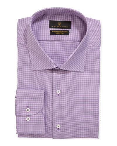 Men's Stretch-Cotton Dress Shirt