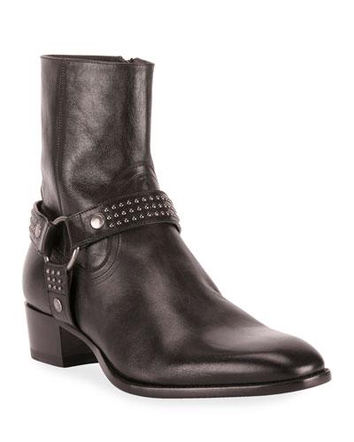 Men's Wyatt Studded Harness Boots
