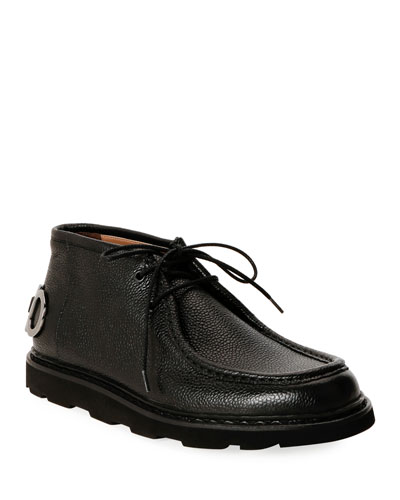 Men's Terry Gancini Leather Chukka Boots