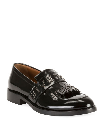 Men's Cruz Logo-Embellished Kiltie Loafers