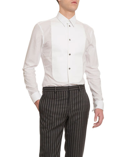 Men's Plastron Sport Shirt