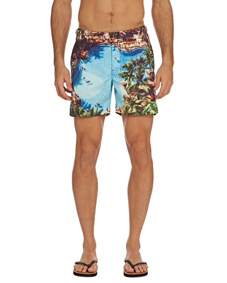 Orlebar Brown Men's Bulldog Photographic Swim Trunks