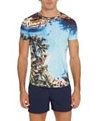 Orlebar Brown Men's Photographic Print Short-Sleeve T-Shirt