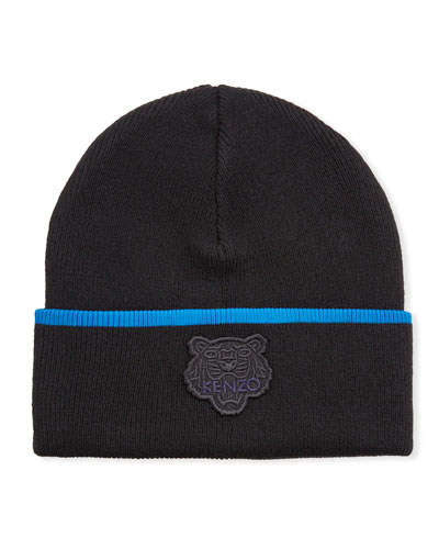 Men's Tiger Crest Wool Beanie
