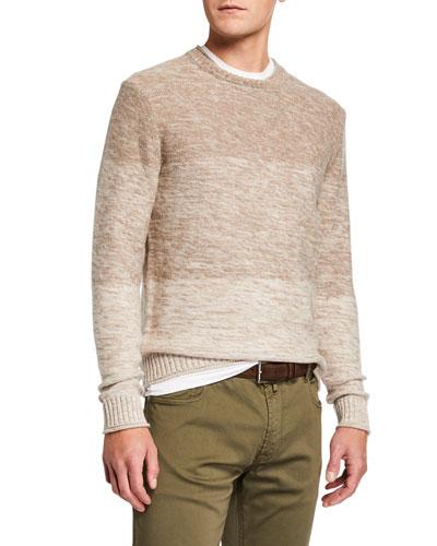 Men's 3-Panel Ombre Sweater