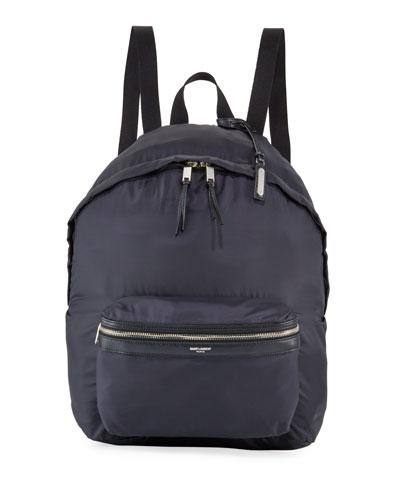 Men's City Belt Bag/Fold-Up Backpack