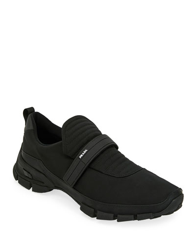 Men's Grip-Strap Runner Sneakers