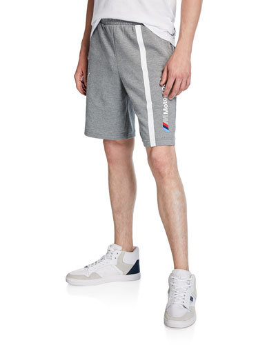 Men's BMW MMS Striped Logo Sweat Shorts