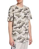 Puma Men's Wild Pack Short-Sleeve Logo T-Shirt