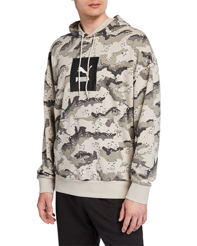 Men's Wild Pack Logo Graphic Camo Hoodie